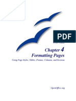 OpenOffice-FormattingPages