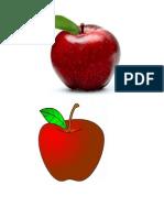 categorias semanticas frutas