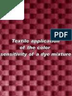 Textile Application of Color Sensitivity