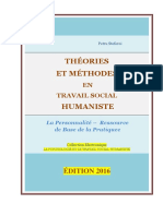 THÉORIES ET MÉTHODES EN TRAVAIL SOCIAL HUMANISTE /  HUMANISTIC SOCIAL WORK THEORIES AND METHODS / Petru Stefaroi