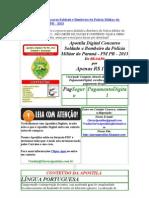 Apostila Digital Concurso Soldado e Bombeiro da Polícia Militar do Paraná - PM PR - 2013