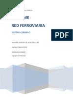 Informe Red Ferroviaria
