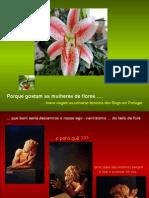 7339217 Porque Gostam as Mulheres de Flores
