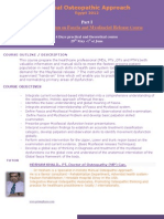 Global Osteopathic Approach Part I Fascia