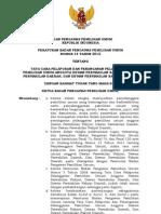 Perbawaslu Nomor 14 Tahun 2012 ttg Tata Cara Pelaporan dan Penanganan Pelanggaran Pileg