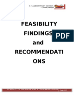 Feasibility Findings