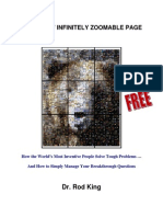 Theory of Infinitely Zoomable Page (IZP)