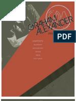 Graham Alexander - Digital Press Kit - 2013