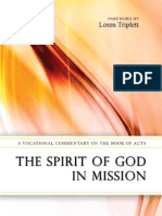 Spirit of God in Mission