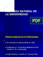 Historia Natural de La Enfermdad