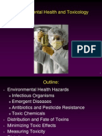 Environmental Health and Toxicity Lecture 2013