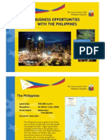 Doing Business in the Philippines - PTIC Brussels