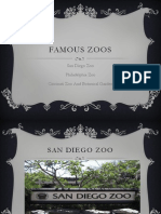 Famous zoos