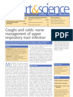 Coughs and Colds Nurse Management of Upper Respiratory Tract Infection