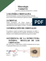 Elmentos de Simetria y Estructura de Los Cristales