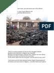 Muslims Burning Christians in Nigeria