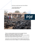 Muslims Burning Christians in Nigeria