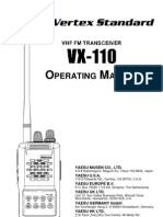 manual radio vertex vhf vx-110