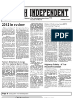 Faith Independent, January 9, 2013