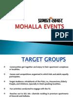 Mohalla Event Presentation