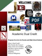 Dual Credit Presentation