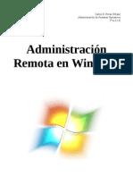 Administración Remota en Windows