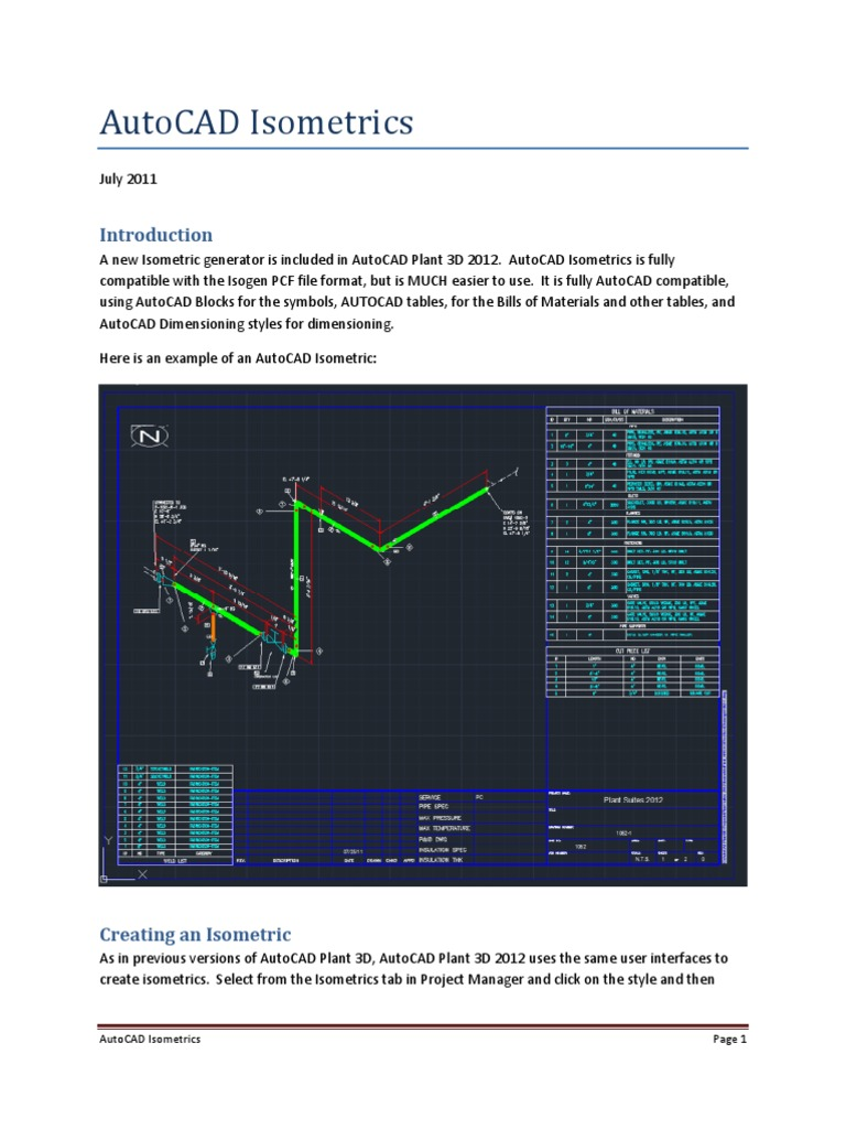 plant 3d isometrics auto cad graphical user interfaces