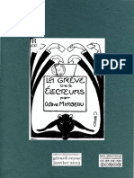 """MIRBEAU, Octave •  La grève des électeurs [suivi de] Prélude. Paris, Bureau des """"Temps Nouveaux"""", 1902. édition diplomatique"""