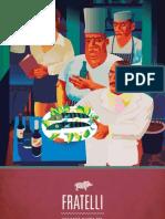 Fratelli Dinner Menu 2013