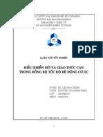 Điều khiển mờ và giao thức CAN trong đồng bộ tốc độ động cơ DC