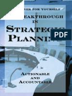 A Breakthrough in Strategic Planning