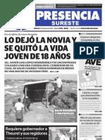 Diario Presencia del Sureste Las Choapas, Veracruz México