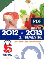 Menú Comedor Escolar - 2º Trimestre