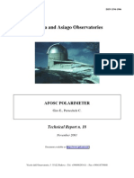 The AFOSC polarimeter