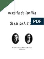 História da Família Seixas de Alencar