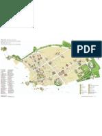 Cartina scavi di Pompei