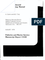 Juvenile Salmonid (Filed Traping Manual)