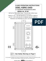 KBRC DC Drive Manual