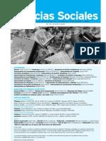 Revista Ciencias Sociales Nº 81.