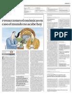 Diario Gestión - Predicciones económicas en caso el mundo no se acabe hoy