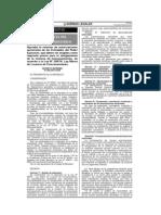 D.S. 006-2013 Autorizaciones Sectoriales Licencia de Funcionamiento
