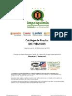 Catálogo de productos completo de la marca Imperquimia por familias y presentación en el mercado, así como rendimientos usos, y recomendaciones técnicas, nombre genérico del producto antecesor  Lista de productos Imperquimia rendimientos usos, y recomendaciones técnicas, nombre genérico del producto antecesor precios.