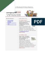 Categorynet.com du 9 février 2009