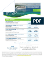 Princess Cruises Spring Clearance Sale