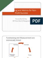 Fundraising and Metrics 101 Presentation Given to a Tanzanian Community Based Organization