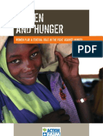 ACF Women and Hunger, March 2006