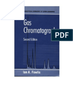 Gas Chromatography Analytical Chemistry