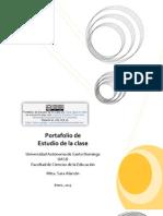 Portafolio Digital Estudio de La Clase