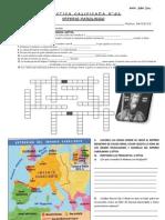 CAROLINGIO Crucigrama y Mapa