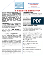 Week 20 Newsletter